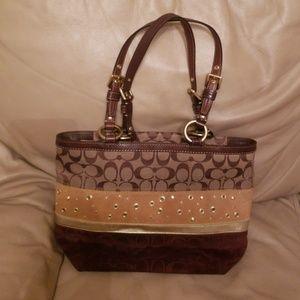 Authentic Coach tote bag No J0820-F13075
